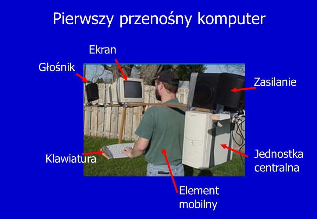 Pierwszy przenośny komputer