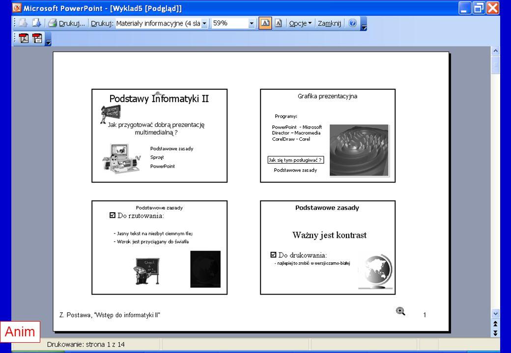 Materiały informacyjne cd.