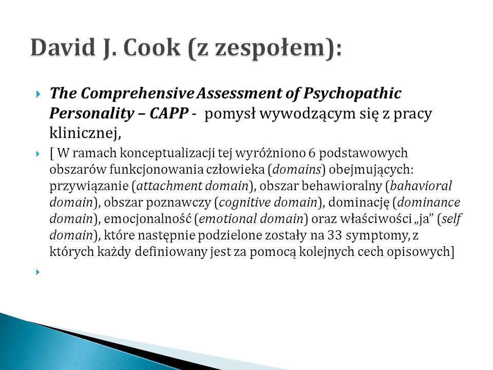 David J. Cook (z zespołem):