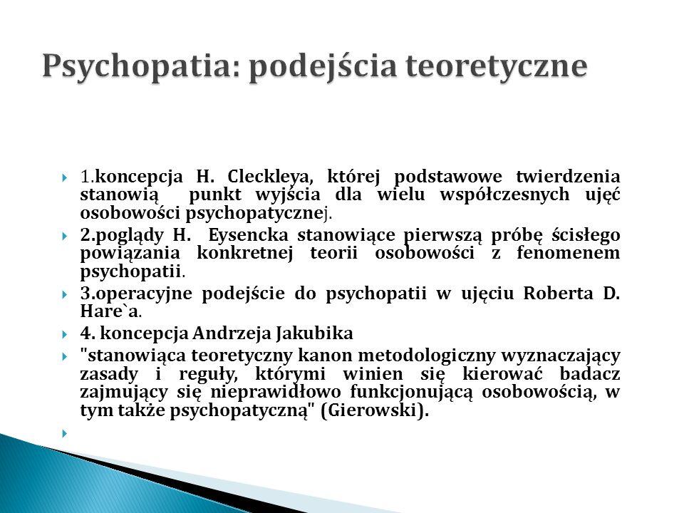 Psychopatia: podejścia teoretyczne