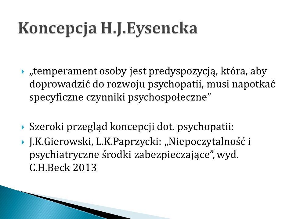 Koncepcja H.J.Eysencka