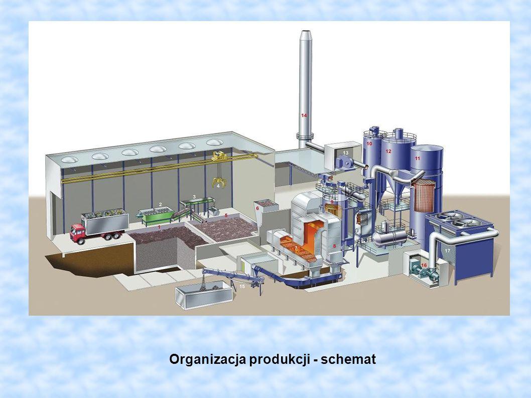 Organizacja produkcji - schemat