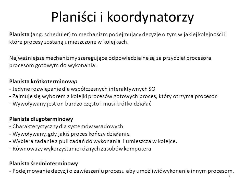 Planiści i koordynatorzy
