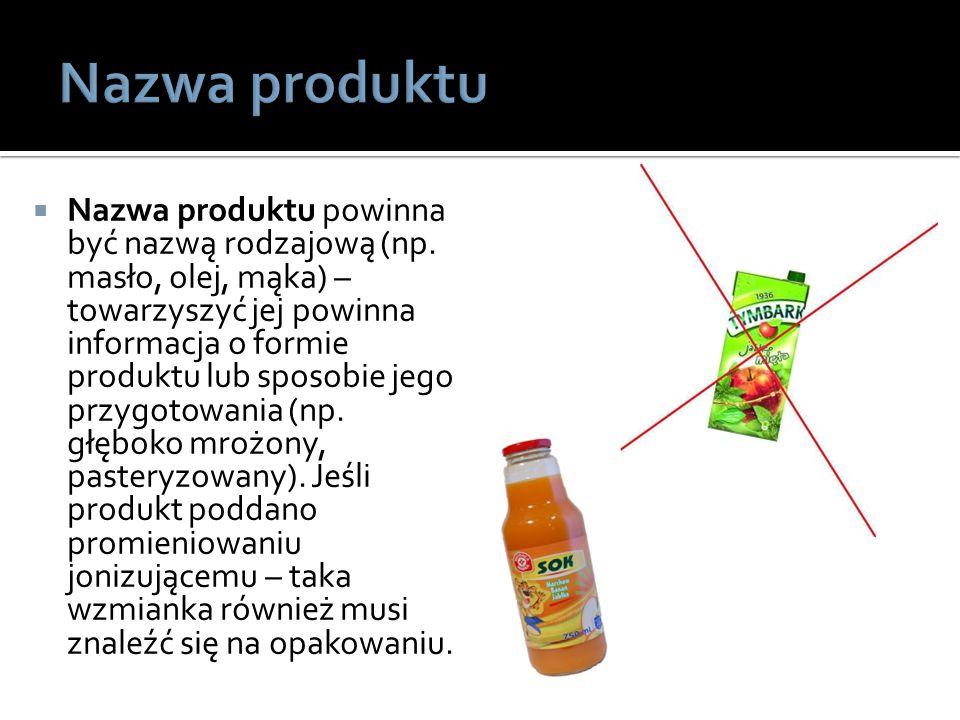Nazwa produktu