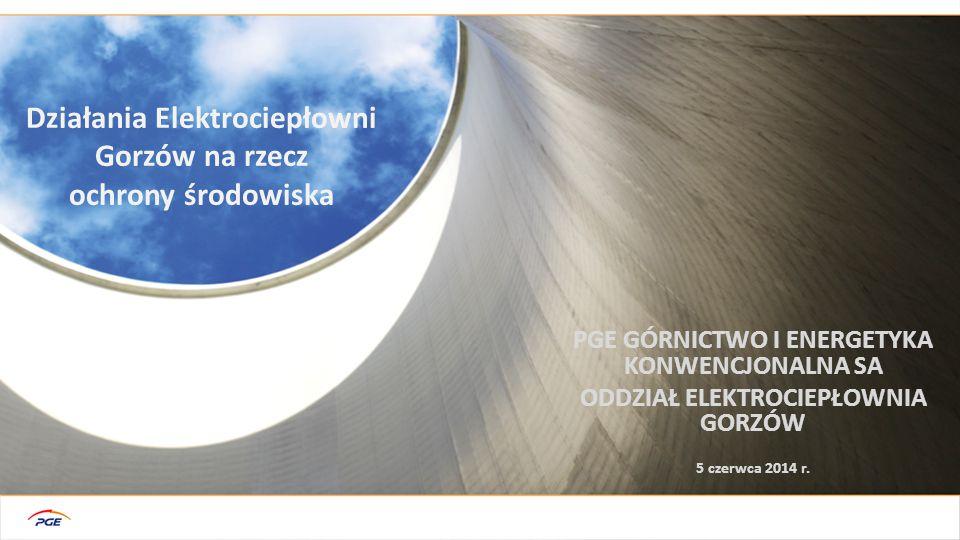 Działania Elektrociepłowni Gorzów na rzecz ochrony środowiska