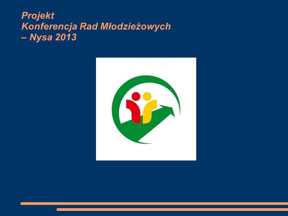 Projekt Konferencja Rad Młodzieżowych – Nysa 2013