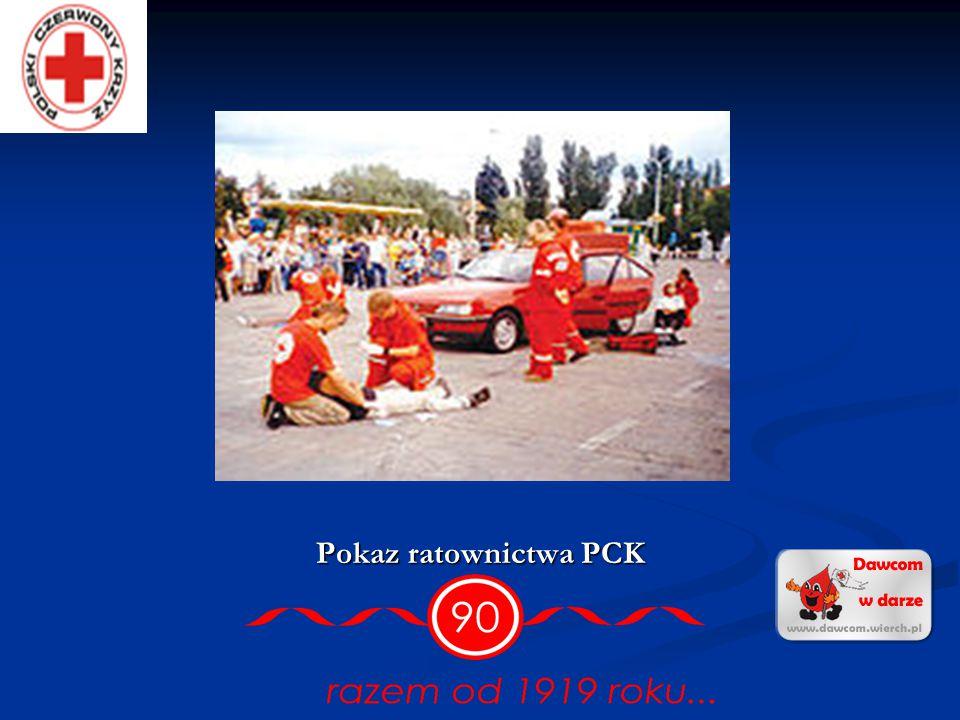 Pokaz ratownictwa PCK