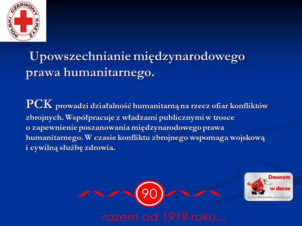 Upowszechnianie międzynarodowego prawa humanitarnego