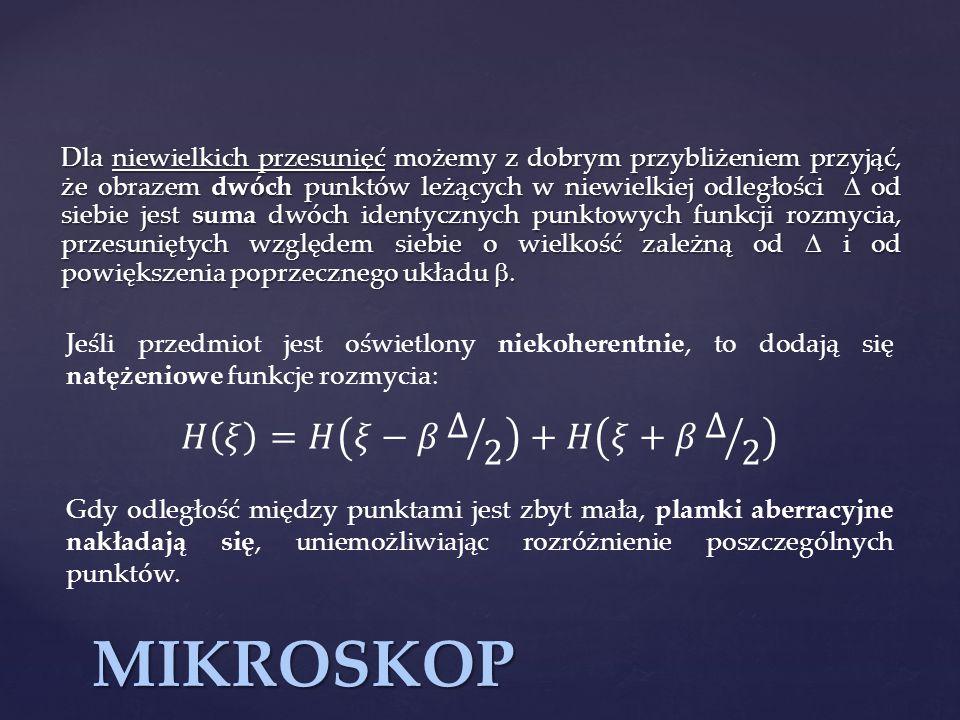 MIKROSKOP 𝐻 𝜉 =𝐻 𝜉−𝛽 Δ 2 +𝐻 𝜉+𝛽 Δ 2