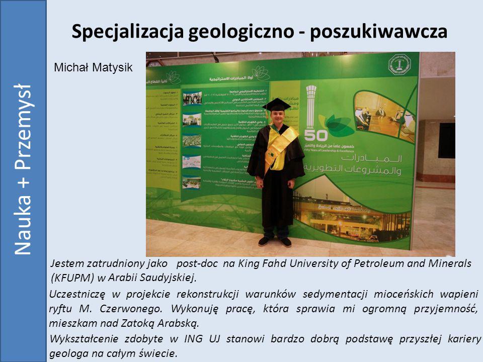 Specjalizacja geologiczno - poszukiwawcza