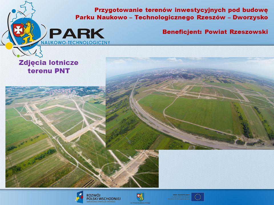 Zdjęcia lotnicze terenu PNT
