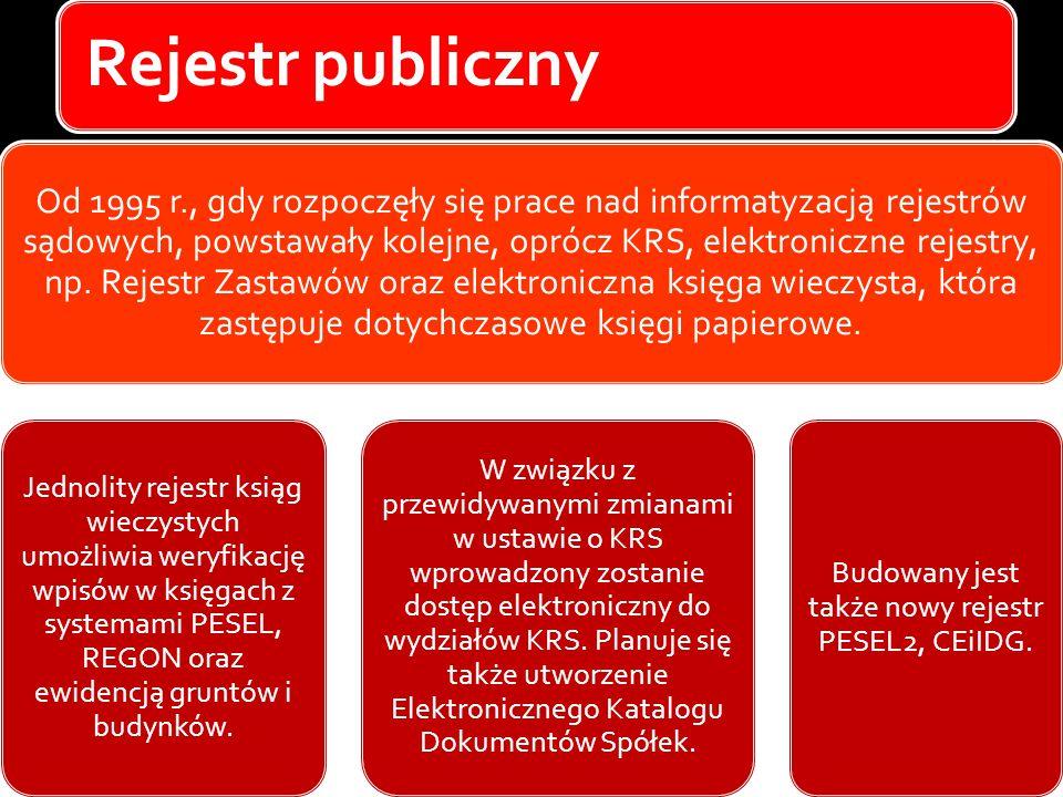 Budowany jest także nowy rejestr PESEL2, CEiIDG.