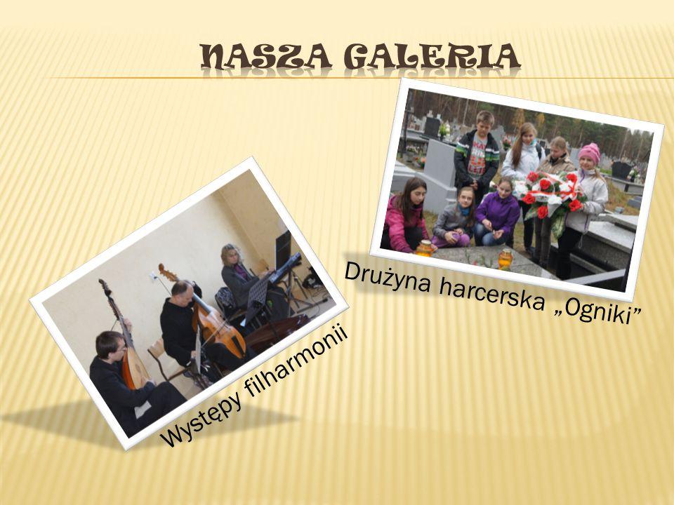 """Nasza galeria Drużyna harcerska """"Ogniki Występy filharmonii"""