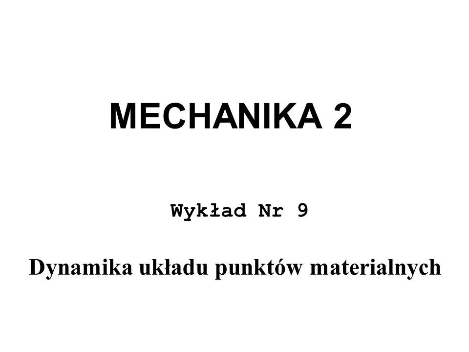 Dynamika układu punktów materialnych