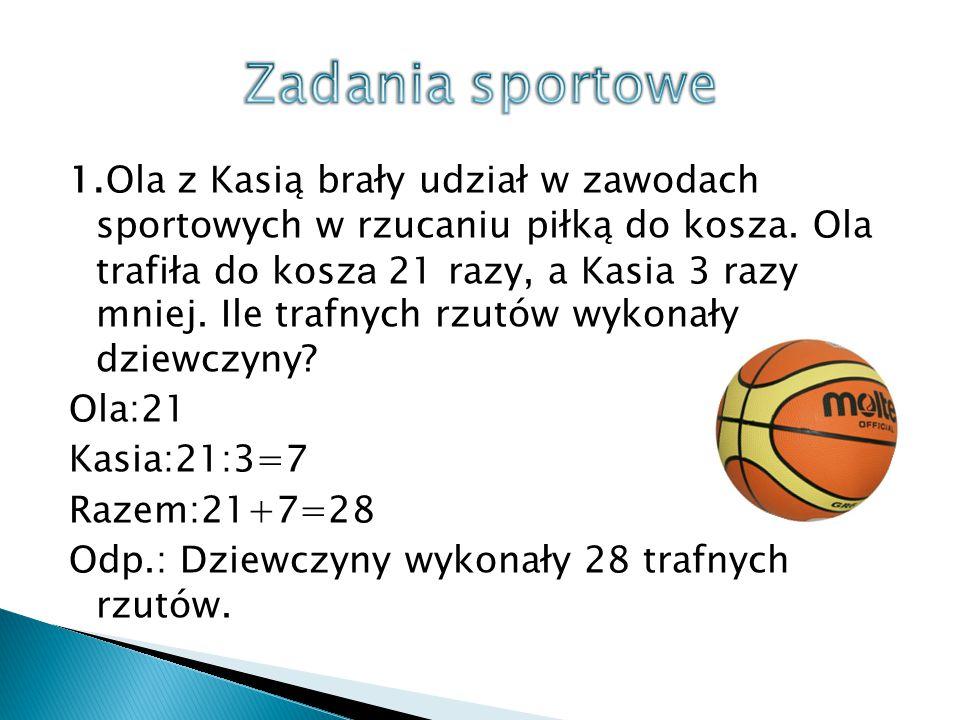 Zadania sportowe