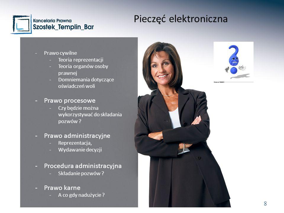 Pieczęć elektroniczna
