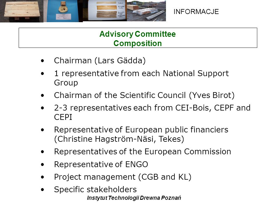 Advisory Committee Composition
