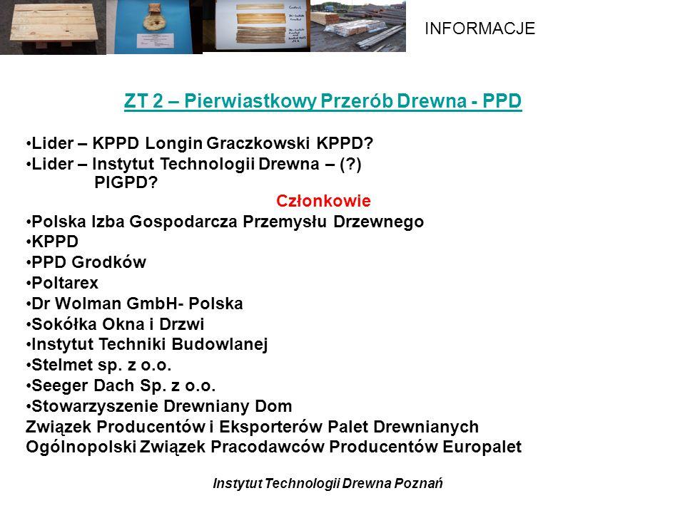 ZT 2 – Pierwiastkowy Przerób Drewna - PPD