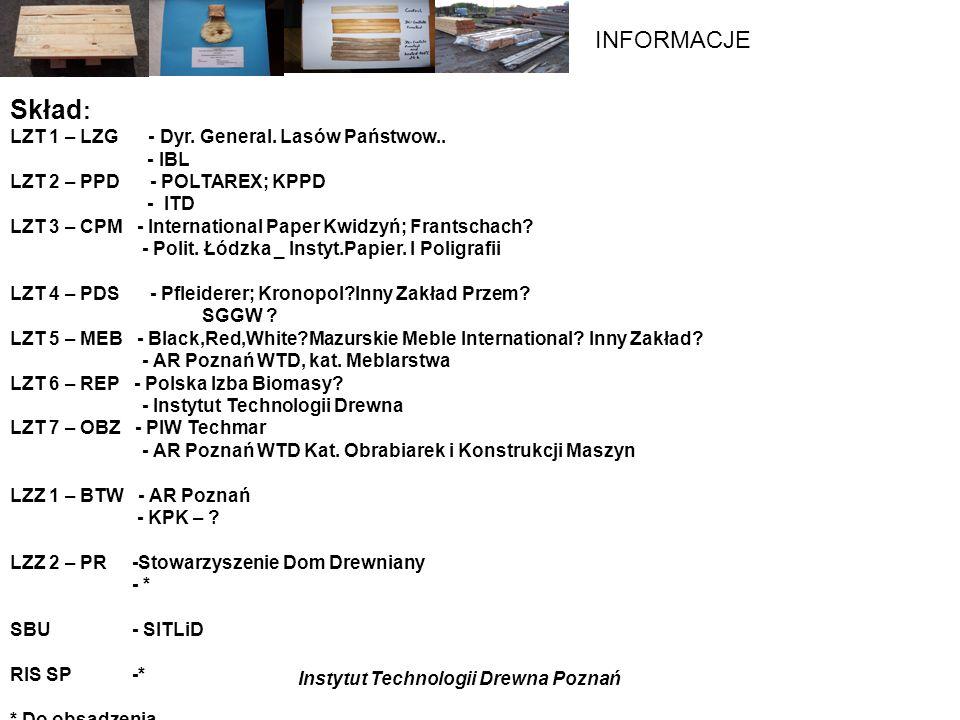Skład: LZT 1 – LZG - Dyr. General. Lasów Państwow.. - IBL