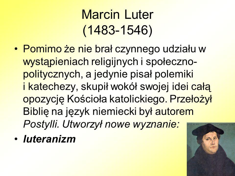 Marcin Luter (1483-1546)
