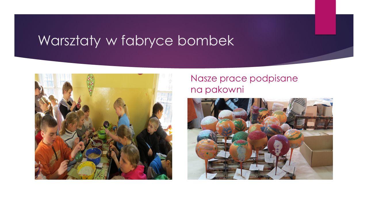 Warsztaty w fabryce bombek