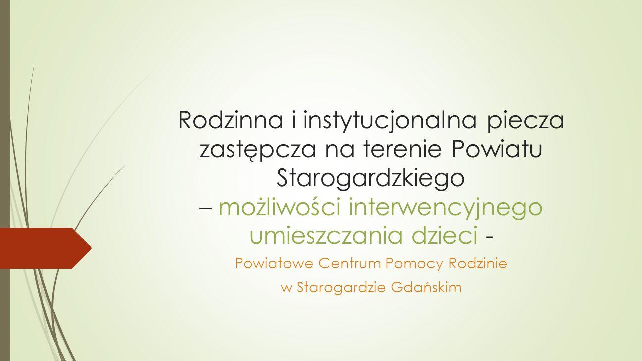 Powiatowe Centrum Pomocy Rodzinie w Starogardzie Gdańskim