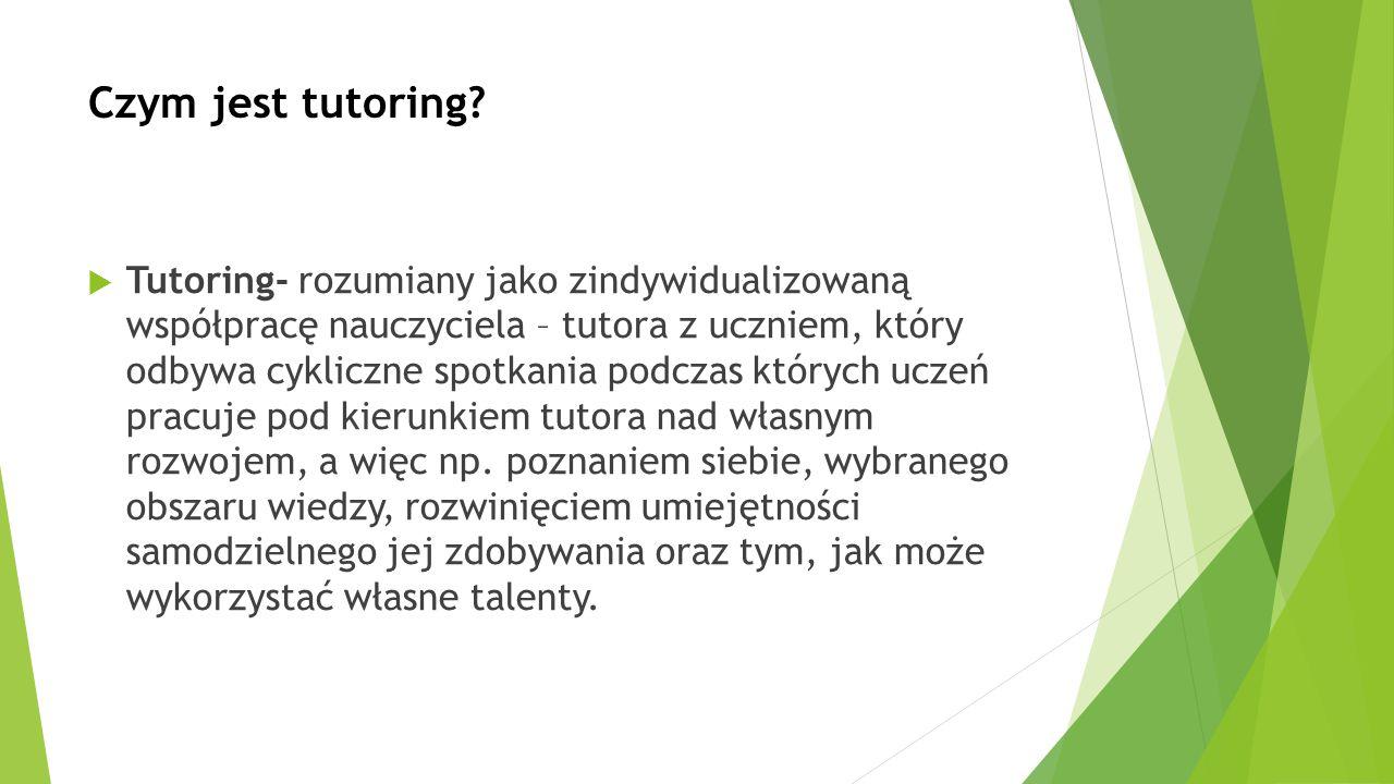 Czym jest tutoring