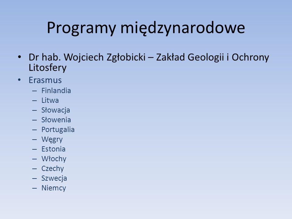 Programy międzynarodowe