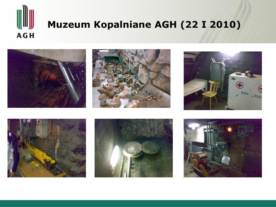 Muzeum Kopalniane AGH (22 I 2010)
