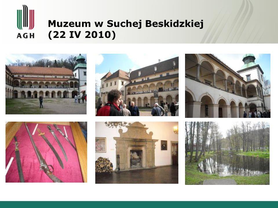 Muzeum w Suchej Beskidzkiej (22 IV 2010)
