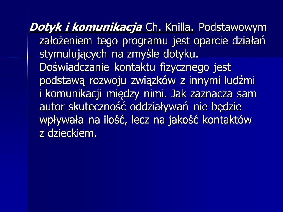 Dotyk i komunikacja Ch. Knilla