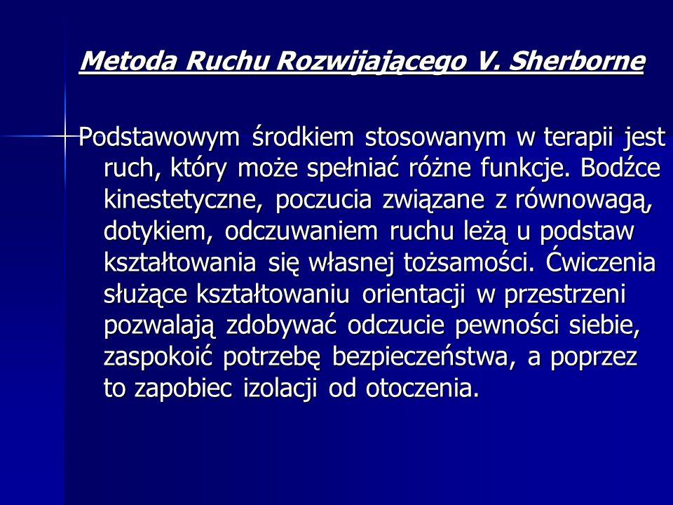 Metoda Ruchu Rozwijającego V. Sherborne