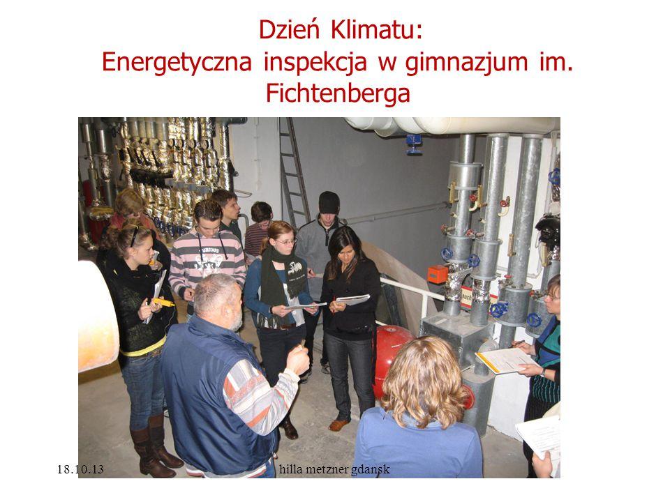 Energetyczna inspekcja w gimnazjum im. Fichtenberga