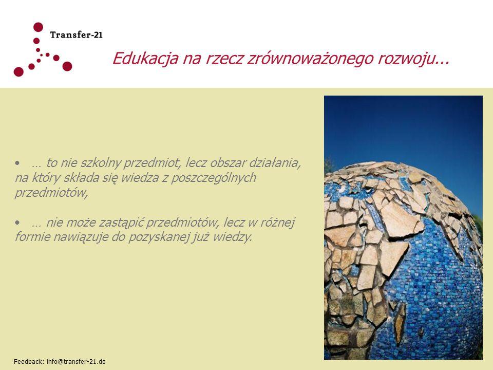 Edukacja na rzecz zrównoważonego rozwoju...