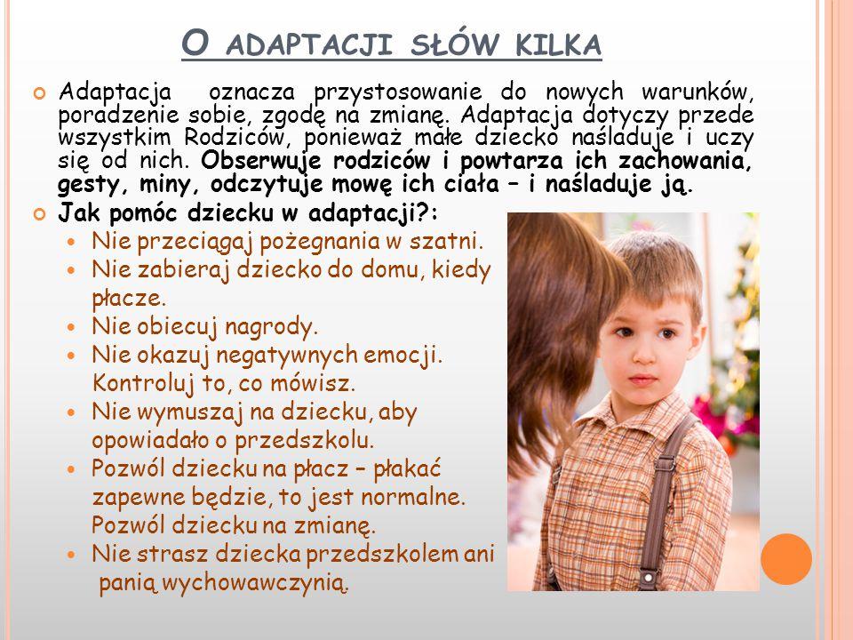 O adaptacji słów kilka