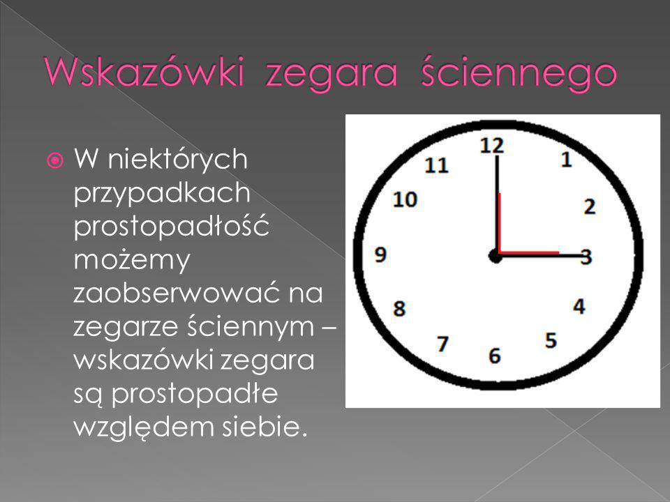 Wskazówki zegara ściennego