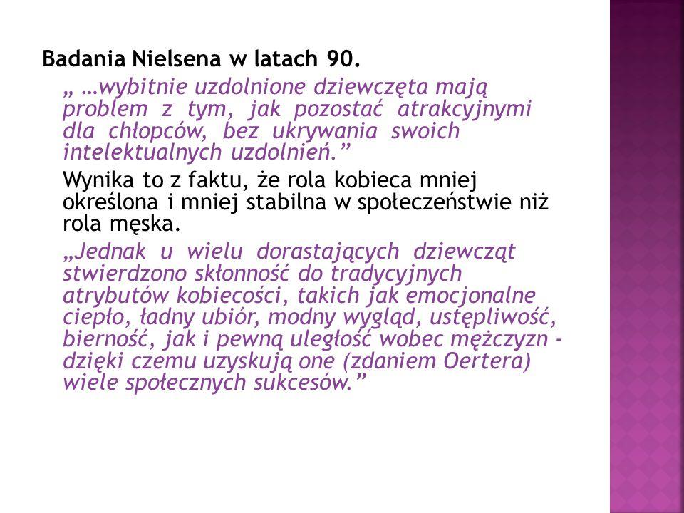 Badania Nielsena w latach 90