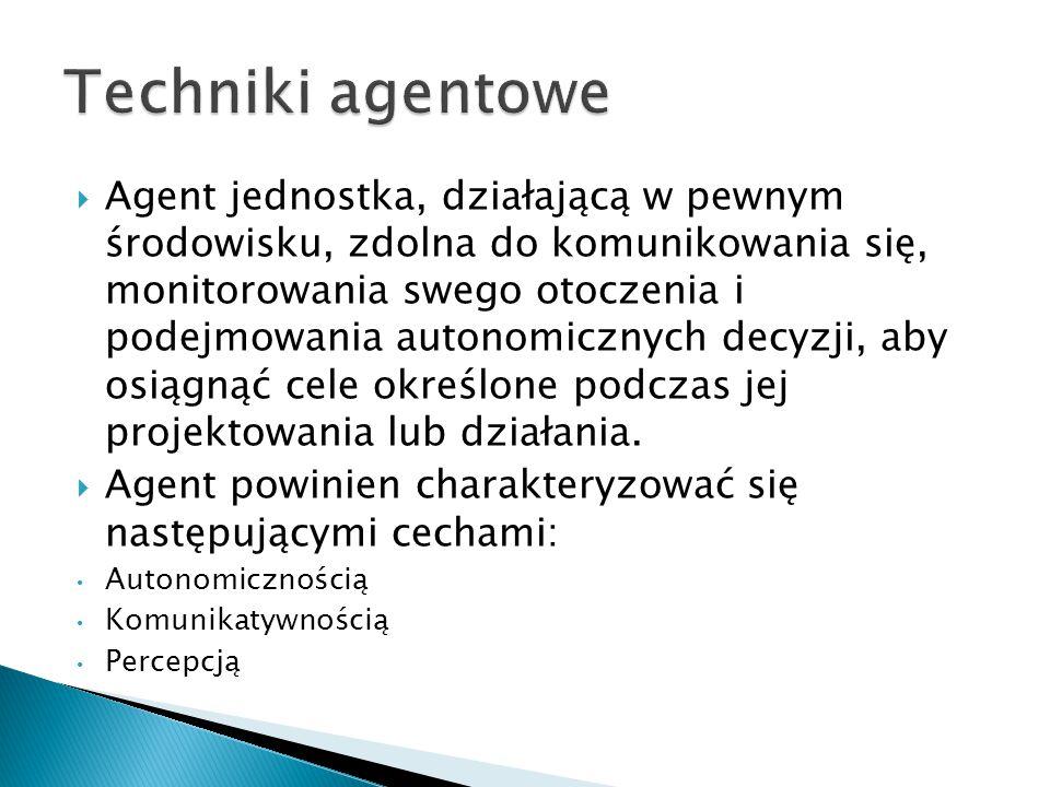 Techniki agentowe