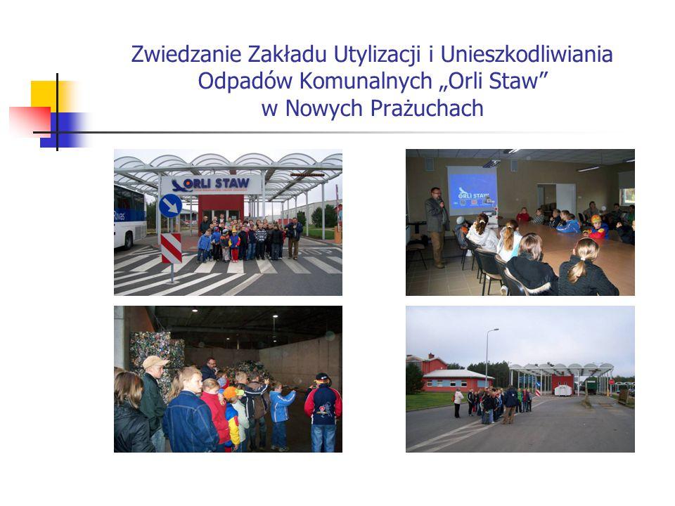 """Zwiedzanie Zakładu Utylizacji i Unieszkodliwiania Odpadów Komunalnych """"Orli Staw w Nowych Prażuchach"""