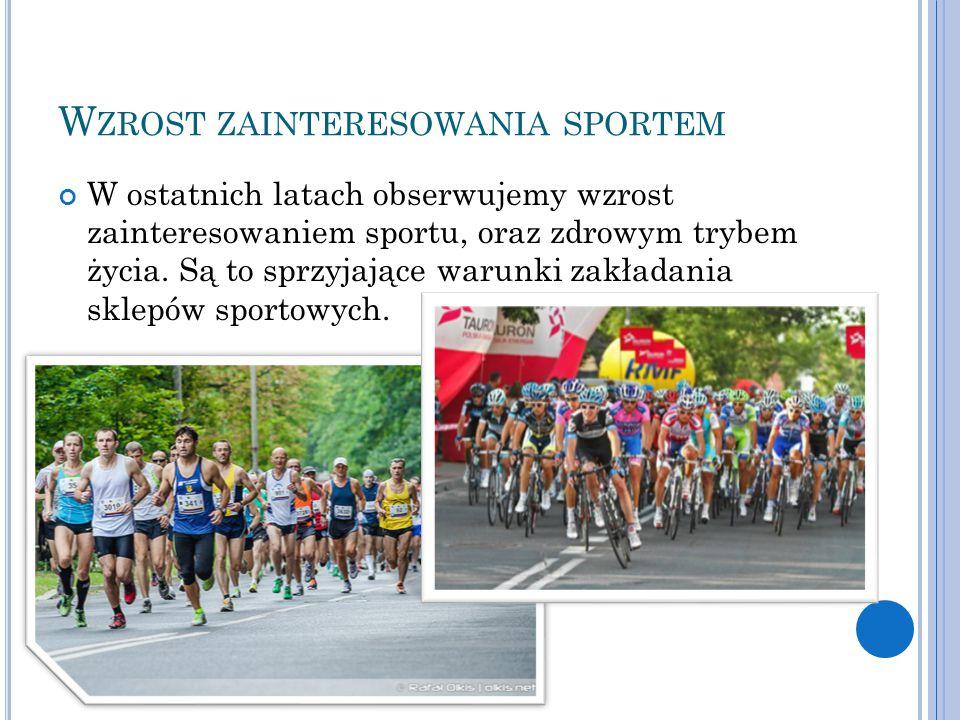Wzrost zainteresowania sportem