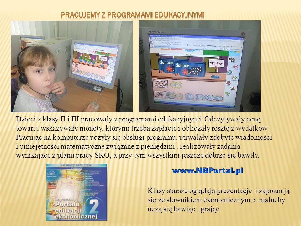 Pracujemy z programami edukacyjnymi