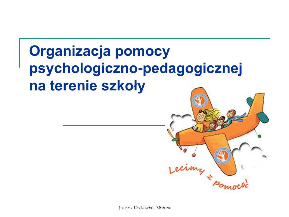 Organizacja pomocy psychologiczno-pedagogicznej na terenie szkoły