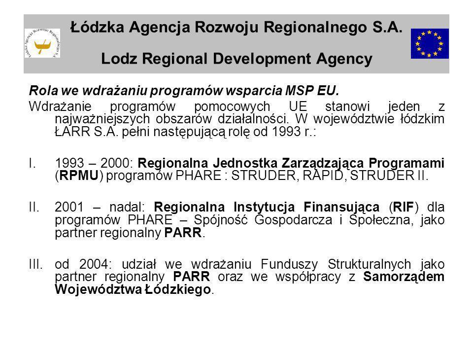 Łódzka Agencja Rozwoju Regionalnego S. A