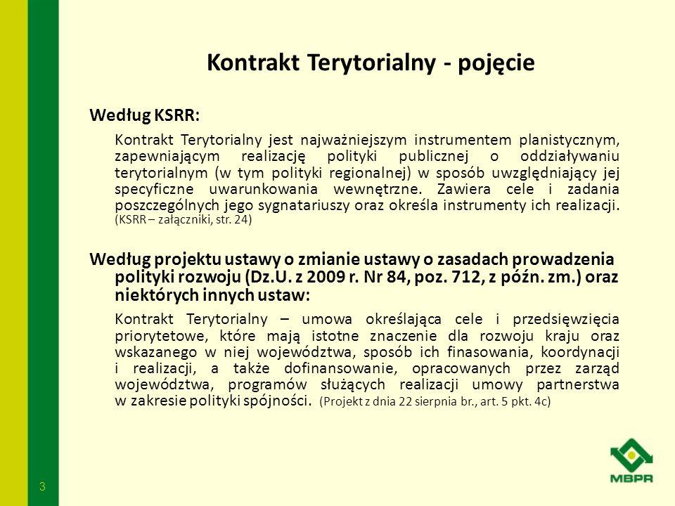 Kontrakt Terytorialny - pojęcie