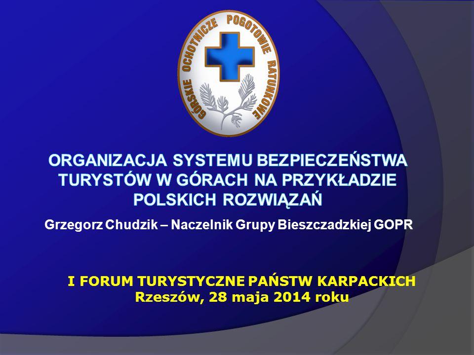 Grzegorz Chudzik – Naczelnik Grupy Bieszczadzkiej GOPR