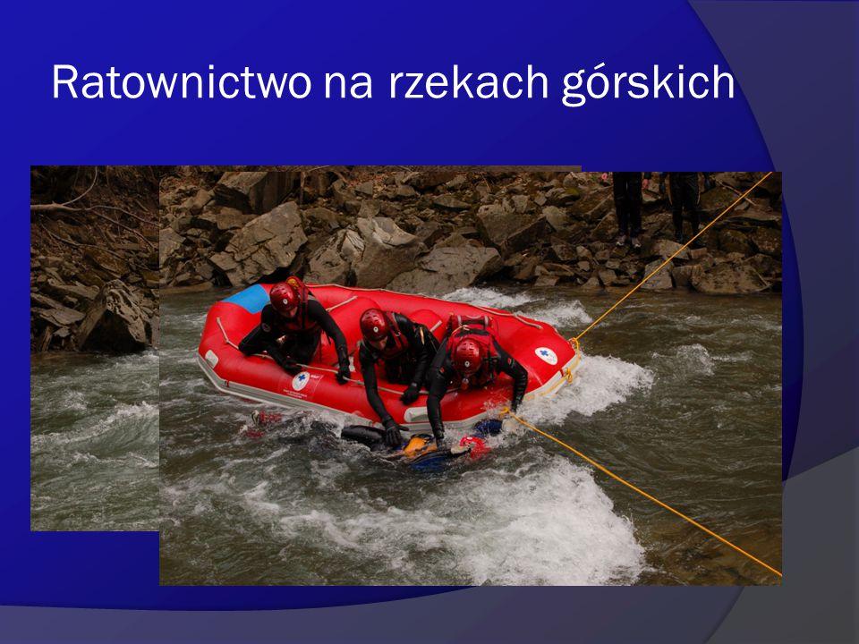 Ratownictwo na rzekach górskich