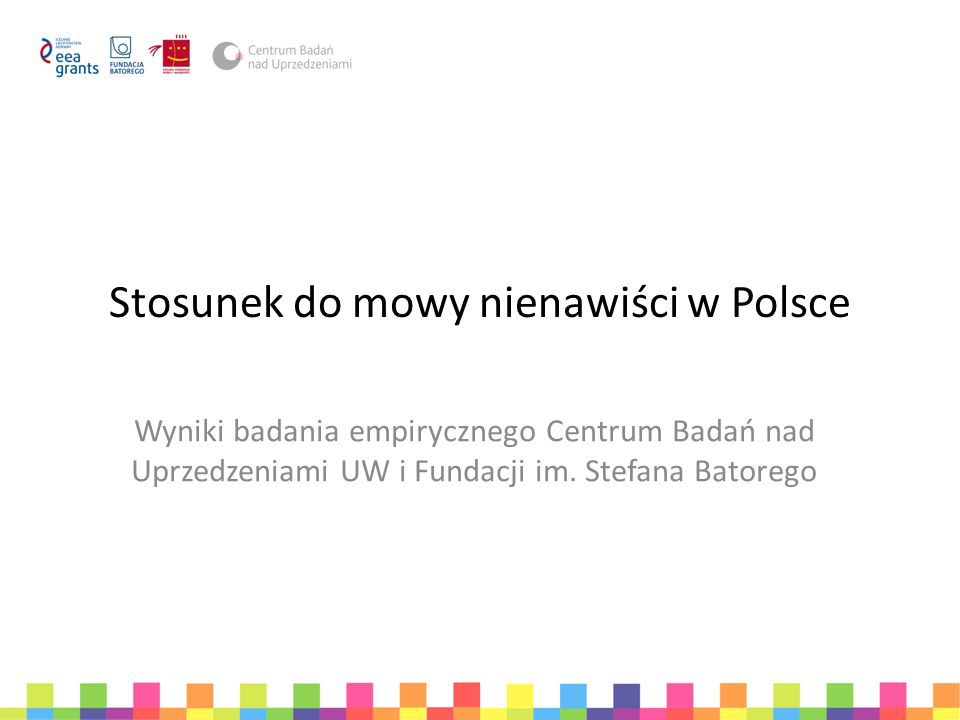 Stosunek do mowy nienawiści w Polsce