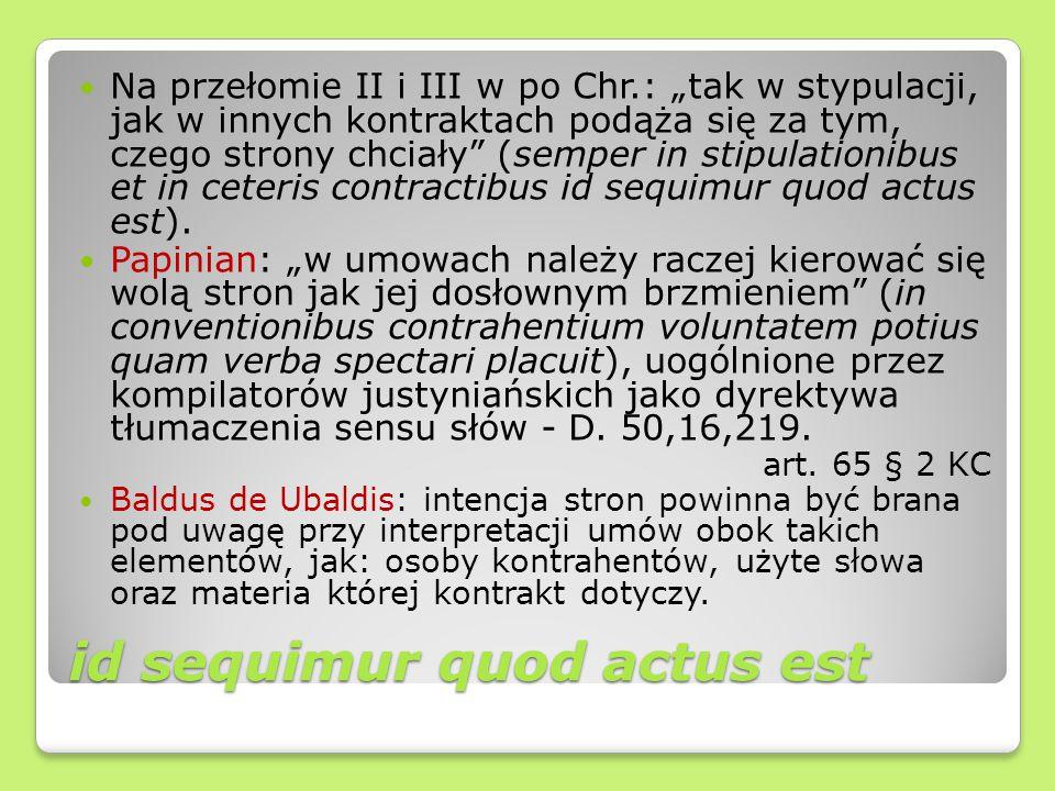 id sequimur quod actus est