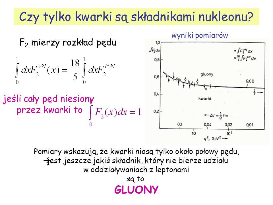 Czy tylko kwarki są składnikami nukleonu