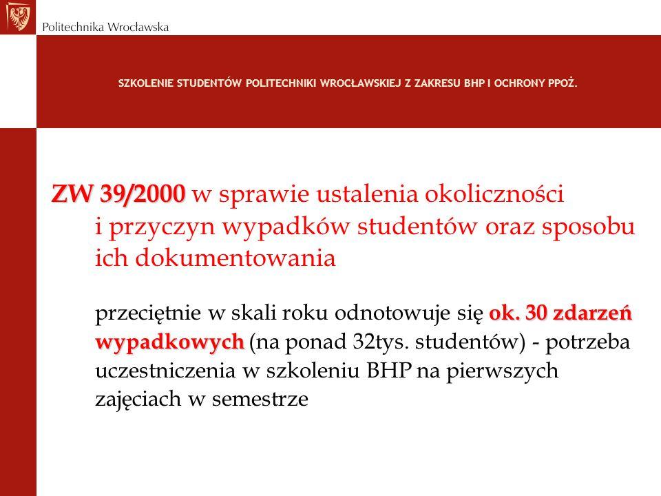 ZW 39/2000 w sprawie ustalenia okoliczności